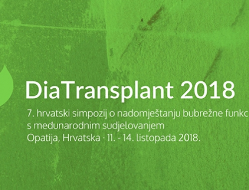 7. hrvatski simpozij o nadomještanju bubrežne funkcije, DiaTransplant 2018