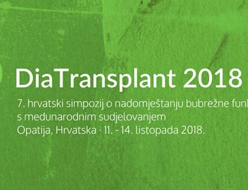 7. Hrvatski simpozija o nadomještanju bubrežne funkcije Diatransplant 2018