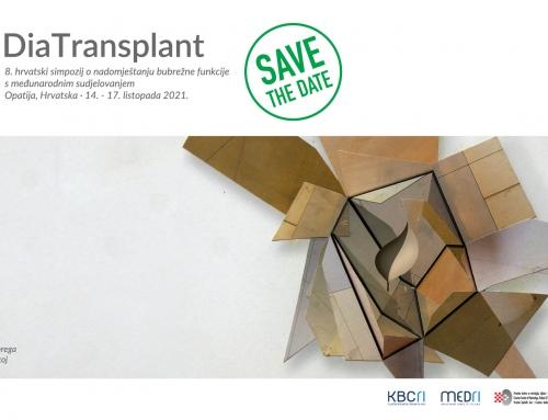 DiaTransplant 2021 -  8. hrvatski simpozij o nadomještanju bubrežne funkcije